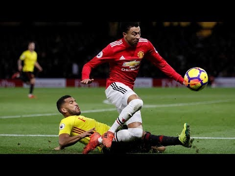 Watford (2) Vs Manchester United (4)  --  All Goals & Highlights - 26-11-2017