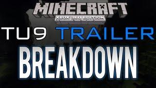 "Minecraft: Xbox 360 - ""TU9"" Trailer Breakdown | The End, Ender Dragon, Spawn Eggs (Title Update 9)"