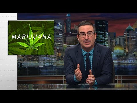 WATCH: Last Week Tonight with John Oliver Talks about Marijuana and Related Laws & Issues