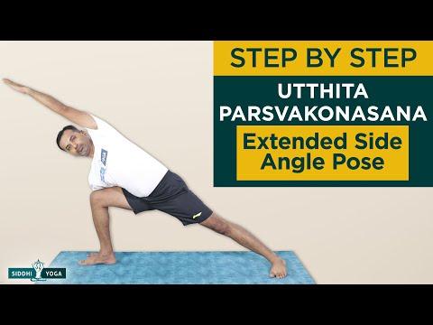 Utthita Parsvakonasana (Extended Side Angle Pose)