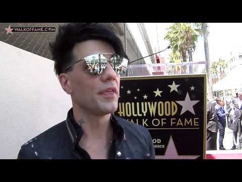 Criss Angel Walk of Fame Ceremony