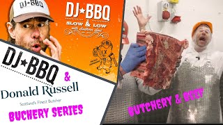 DJ BBQ takes an in-depth look at rib of beef Butchery with at Donald Russell HQ by DJ BBQ