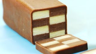 How to Make Checkerboard Cookies 체크 쿠키 만들기 Christmas Cookie - 한글자막 - YouTube