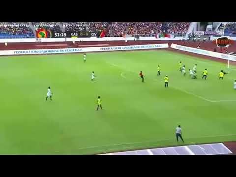 ملخص مباراة الغابون وساحل العاج 2017