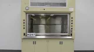 6′ Lab Fabricators Company Laboratory Fume Hood w/ Cabinets