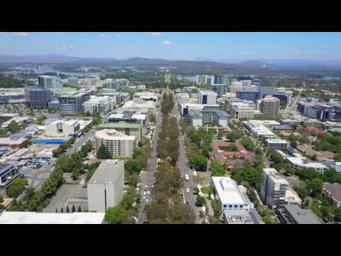 Canberra Fly-through video
