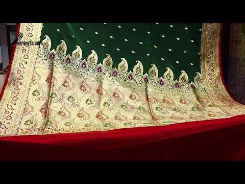 Video Latest Exclusive Indian Benarasi sharee Bridal Collection  2018(At Mirpur Benarasi palli) with Price download in MP3, 3GP, MP4, WEBM, AVI, FLV January 2017