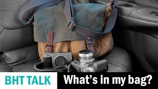 What's in my Camera Bag: My Current Review Cameras