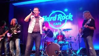 AC/DC Tribute Highway to Hell members along with Nicko McBrain and the McBrainiacs perform the Trooper.