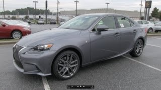 2014 Lexus IS350 F-Sport Start Up, Exhaust, And In Depth Review