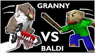 Video Monster School : BALDI'S BASICS VS GRANNY CHALLENGE ALL EPISODE 1 - Minecraft Animation MP3, 3GP, MP4, WEBM, AVI, FLV Februari 2019