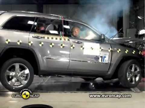 Jeep Grand Cherokee NEW Jeep Grand Cherokee 2011 crash test EURONCAP!аварийное испытание