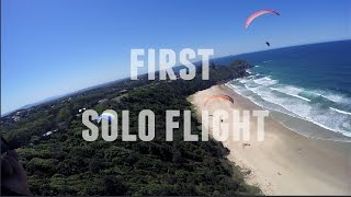 Laurieton Australia  city photo : SOLO Paragliding after a 2 day course - Port Macquarie Australia