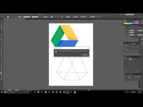 How To Make The Google Drive By Illustrator Cc 2014 - Google Drive Tutorial - Illustrator Tutorial