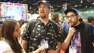 We are in the middle of the D23 Expo and there is no way we can go without talking about Doctor Who. Join us from the showroom floor for our first impressi...