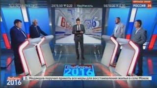 Теледебаты на Россия24: Большой спорт или большая политика