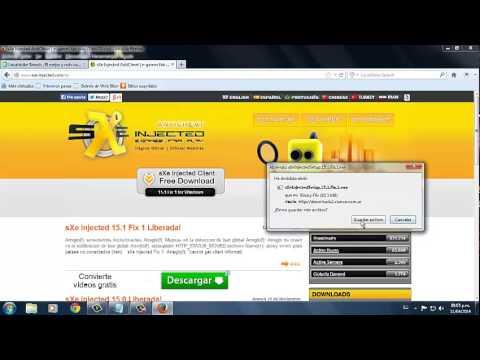 sxe - Hola En Este Video Tutorial Les Enseñare A Como Descargar E Instalar El Sxe Injected De Una Manera Facil Y Sin Virus! Link De La Pagina:http://www.sxe-inject...