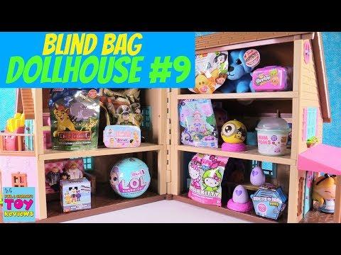 Blind Bag Dollhouse #9 Unboxing Disney Baby Secrets LOL Surprise Doll Num Noms | PSToyReviews