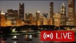 超高層ビル並ぶアメリカ三大都市のひとつ【シカゴ】Chicago Skyline & Harbor Live