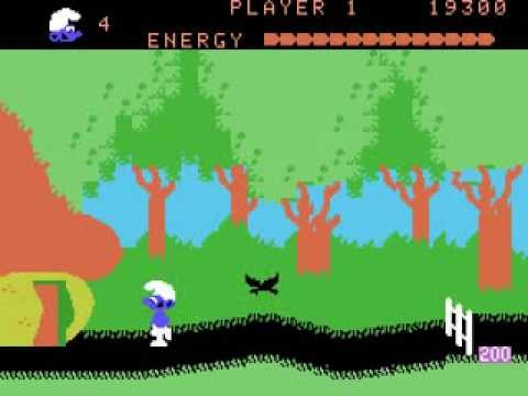 ColecoVision Longplay [011] Smurfs: Rescue in Gargamel