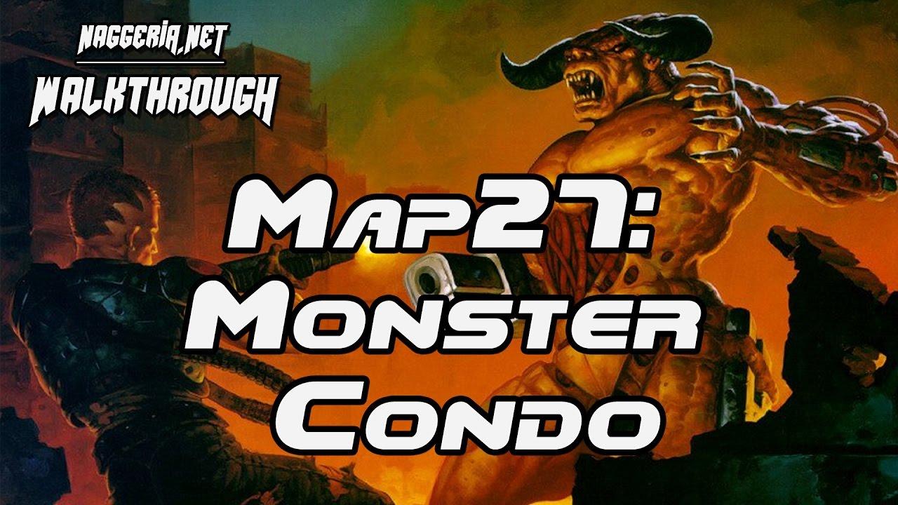 """[Doom 2 Komplettlösung] Map27: """"Monster Condo"""" Walkthrough (Ultra-Violence)"""