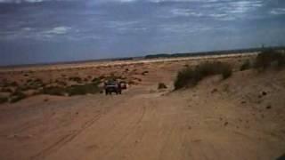 8. Douz to Ksar Ghilane piste, Tunisia on a pair of Ural and Dnepr sidecars - Part 5