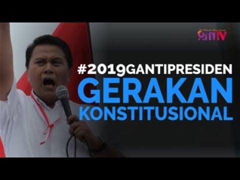 #2019GantiPresiden Gerakan Konstitusional