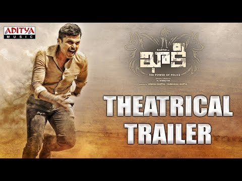 Khakee (The Power Of Police) Theatrical Trailer- Telugu Movie- Karthi, Rakul Preet
