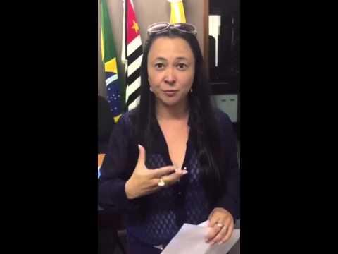 Depoimento da prefeita de Pirajuí, Juliana Nagano