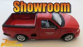 Nonton [Showroom] Ford F-150 SVT Lightning Fast and Furious diecast car Film Subtitle Indonesia Streaming Movie Download