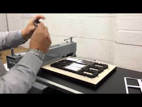 Die Cutting Fridge magnets