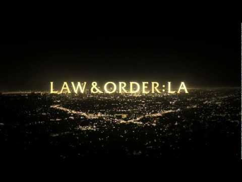 Law and Order Los Angeles HD Voice Intro