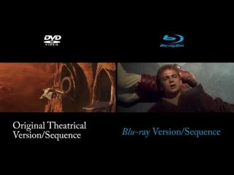 SW: Count Dooku Escapes - DVD/Blu-ray Comparison.