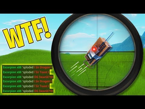 5,000,000 IQ WIN USING THE NEW C4!! (0.0001% CHANCE) | Fortnite Daily Funny and WTF Moments Ep. 117 (видео)