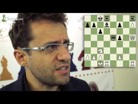 Levon Aronian vs Maxime Vachier-Lagrave: Sinquefield Cup Round 8