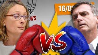"""Jair Bolsonaro foi condenado pelo STJ. Será que ele conseguirá se candidatar para as eleições de 2018? #OtarioNewsLOJINHA http://canaldootario.com.br/store/CAMISETAS http://canaldootario.com.br/loja2/SE INSCREVE AÍ NESSA BAGAÇA http://bit.ly/2dlmOXnTORNE-SE MEU PATRÃO ;-) http://www.patreon.com/CanalDoOtarioDOAÇÕES http://www.canaldootario.com.br/doacoes/Acesse o site http://CanalDoOtario.com.brLojinha do Canal do Otário http://canaldootario.com.br/store_Utilize o código: CANALDOOTARIO na primeira corrida do UBEREste código oferece uma viagem com desconto de até R$20 para novos usuários. O código é válido até 31/12/17 e é exclusivo para novos usuários.Abaixo segue um passo a passo para o uso do código.1º Baixar o Uber e/ou abrir o aplicativo http://ubr.to/2cxGDbL 2º Clicar no menu superior esquerdo (três traços do canto superior esquerdo).3º Clicar em promoções.4º Clicar em """"Adicione um código promocional"""".5º Escrever CANALDOOTARIO e clicar em aplicar.Para mais informações, fontes e links extras acesse: http://www.canaldootario.com.br/videos/bolsonaro-vs-maria-do-rosario-reducao-do-salario-minimo-reforma-politica-e-fabio-assuncao-vs-gentili/Agradecimentos Especiais aos Patrões:Delcio JuniorBruno BezerraMarcelo FerreiraRafael CostaGustavo GalvãoAndré CastroRaphael AmorimPlínio DutraEdu CruzDaniel LacerdaLuciano CamposPedro VieiraMike MorcerfR SouzaObrigado, Patrões! O apoio financeiro ao Canal através do Patreon, está sendo fundamental para manter o Canal vivo e fazer vídeos como este!___Música e efeitos sonoros:Diego Vilas Boas"""