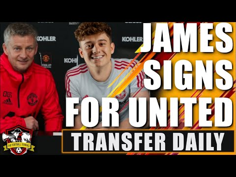 DONE DEAL! Daniel James Signs For Manchester United + MASSIVE Pogba Update | Transfer Daily