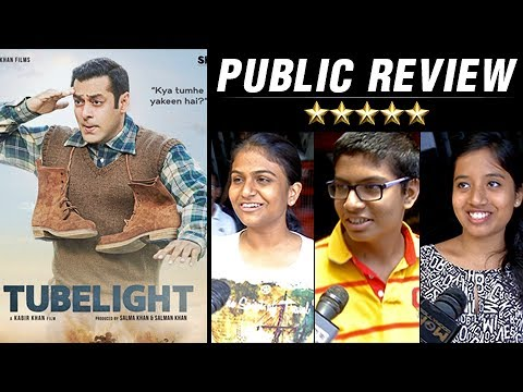 Tubelight PUBLIC REVIEW | Salman Khan | Sohail Kha