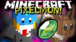 "Minecraft - PIXELMON (POKEMON MOD) ""EVOLUTION TIME!"" - w/ Husky - #4"