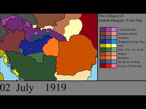 The Collapse of Austria-Hungary: Every Day