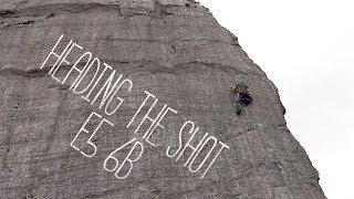 Climbing My First Slate E5 by Matt Groom