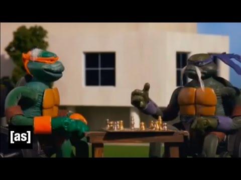 Želvy ninja senioři