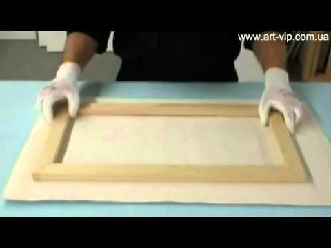 Как сделать своими руками модульную картину видео