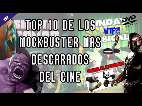 Las 10 peliculas Mockbuster mas descaradas. (loquendo)
