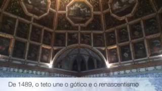 O tour pelo Palácio Nacional de Sintra