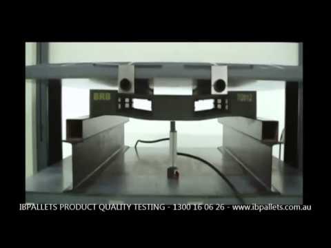 IB Pallets: Plastic Pallets Quality Testing
