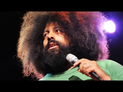 Reggie Watts Performs At TED Conference