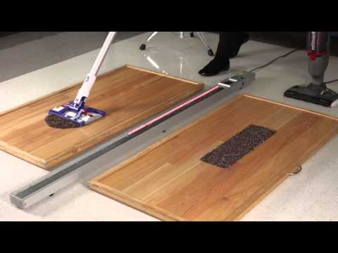 Watch BISSELL Symphony Beat Dyson Hard® in a Lab