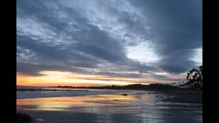 Sunset Time-lapse From East Beach Santa Barbara 1/8/2016