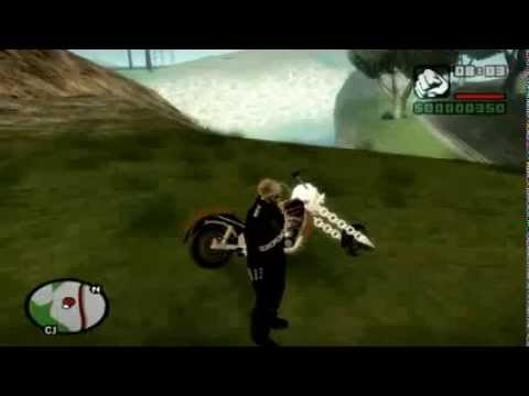 GTA SA Ghost Rider.(3gp)